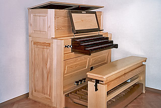 Mayer-Orgel in Junglinster, Luxemburg