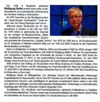 Prof. Wolfgang Seifen spielt in St. Kastor Koblenz
