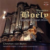 Alexandre Boely selected organ works